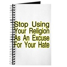 Stop Using Religion Journal