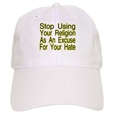 Stop Using Religion Baseball Cap