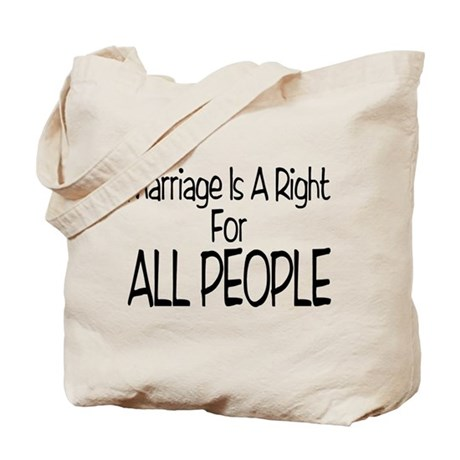 Marriage For All Tote Bag