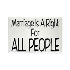 Marriage For All Rectangle Magnet