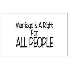 Marriage For All Posters