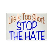 Life Is Too Short Rectangle Magnet