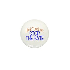 Life Is Too Short Mini Button (100 pack)