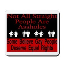 Not All Straight People Mousepad