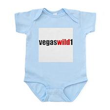 Vegas Wild 1 Logo  Infant Creeper