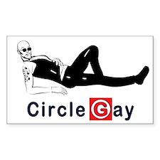Circle Gay2 Rectangle Decal