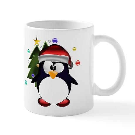 Tux santa claus Mug