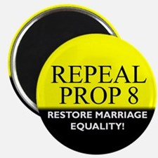 Repeal Prop 8 (Yellow) Magnet