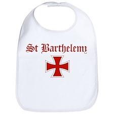 St Barthelemy (iron cross) Bib