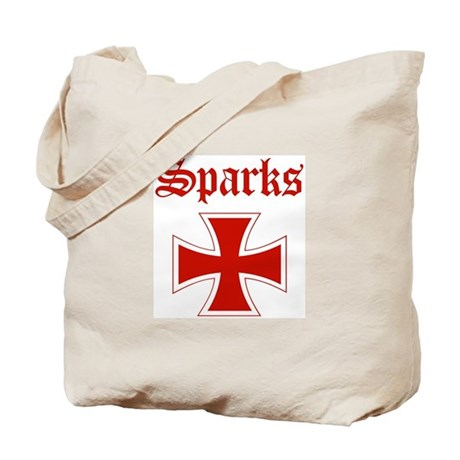 Sparks (iron cross) Tote Bag