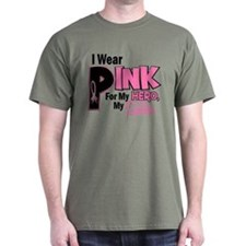 I Wear Pink For My Sister 19 T-Shirt