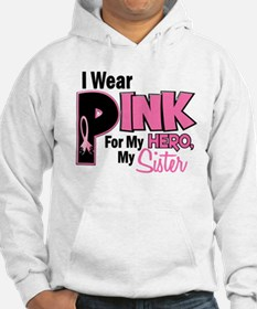 I Wear Pink For My Sister 19 Jumper Hoody