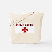 Slovak Republic (iron cross) Tote Bag