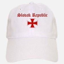Slovak Republic (iron cross) Baseball Baseball Cap