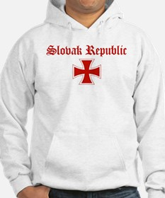Slovak Republic (iron cross) Hoodie