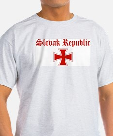 Slovak Republic (iron cross) T-Shirt