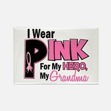 I Wear Pink For My Grandma 19 Rectangle Magnet