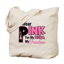 I Wear Pink For My Grandma 19 Tote Bag