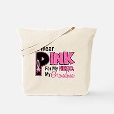 I Wear Pink For My Grandma 19 Tote Bag
