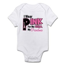 I Wear Pink For My Grandma 19 Onesie