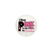 I Wear Pink For My Grandma 19 Mini Button (10 pack
