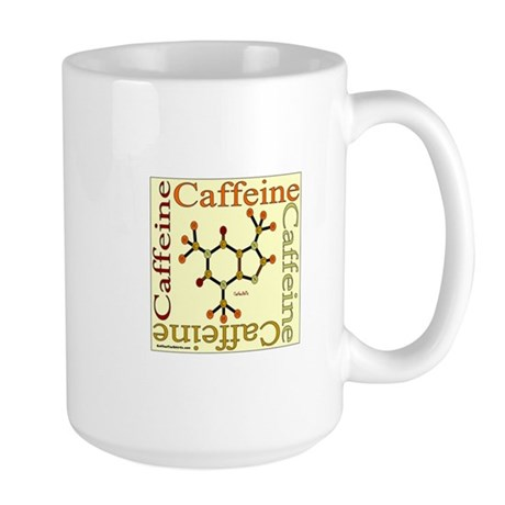 Caffeine Molecule Large Mug