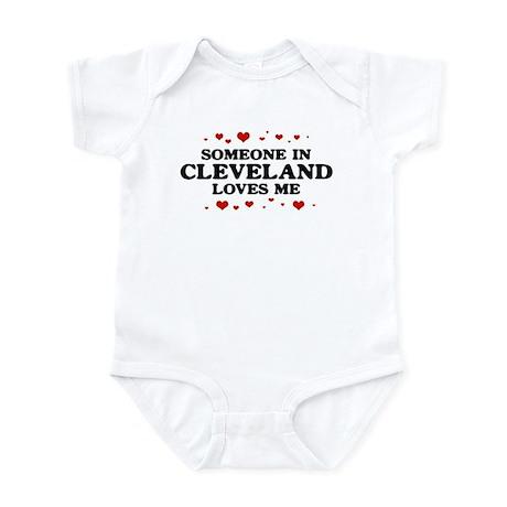 Loves Me in Cleveland Infant Bodysuit