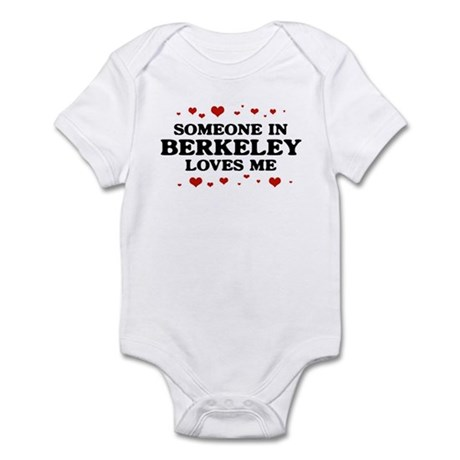 Loves Me in Berkeley Infant Bodysuit