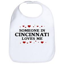 Loves Me in Cincinnati Bib