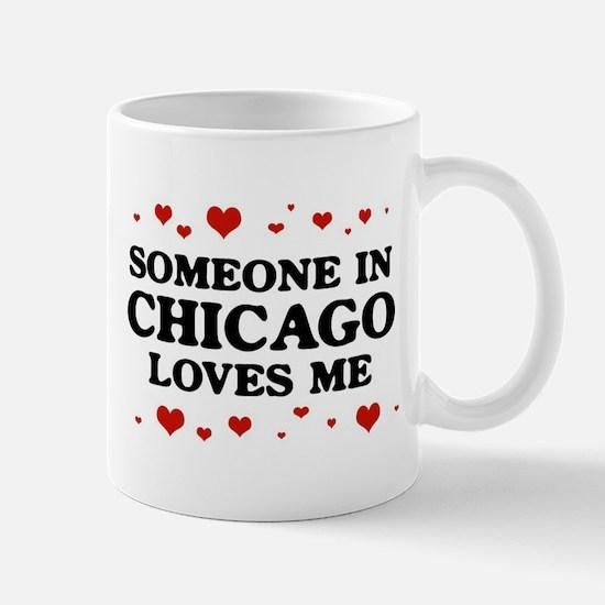 Loves Me in Chicago Mug