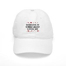 Loves Me in Chicago Baseball Cap