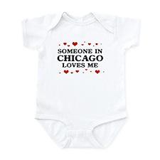 Loves Me in Chicago Infant Bodysuit