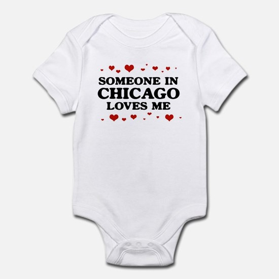 Loves Me in Chicago Infant Bodysuit