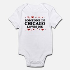 Loves Me in Chicago Onesie