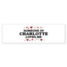 Loves Me in Charlotte Bumper Sticker (50 pk)