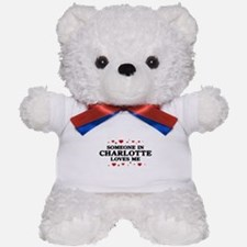 Loves Me in Charlotte Teddy Bear