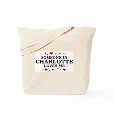 Loves Me in Charlotte Tote Bag