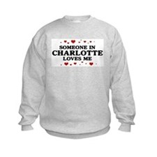 Loves Me in Charlotte Sweatshirt