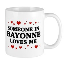 Loves Me in Bayonne Small Mugs