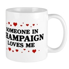 Loves Me in Champaign Small Mugs