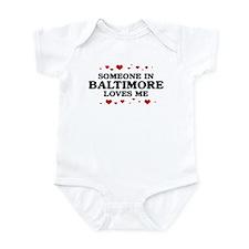 Loves Me in Baltimore Infant Bodysuit