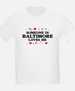 Loves Me in Baltimore T-Shirt