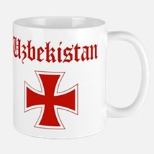 Uzbekistan (iron cross) Mug
