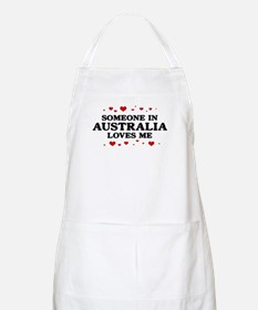 Loves Me in Australia BBQ Apron