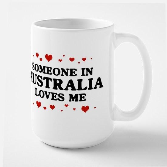 Loves Me in Australia Large Mug