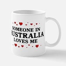 Loves Me in Australia Mug
