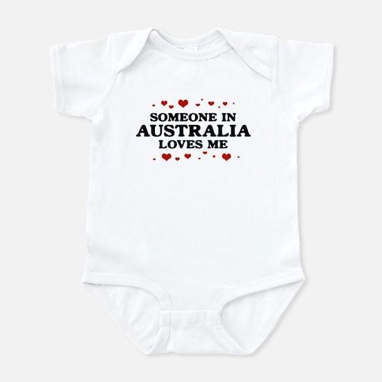 Loves Me in Australia Infant Bodysuit