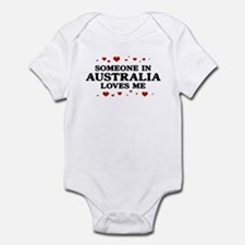 Loves Me in Australia Onesie