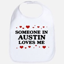 Loves Me in Austin Bib