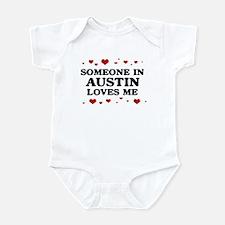 Loves Me in Austin Infant Bodysuit